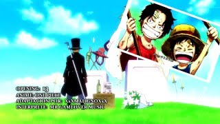 Download One Piece Opening 13 Fandub Español Latino MP3 song and Music Video