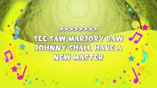 See Saw, Marjory Daw Karaoke