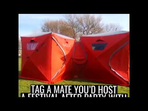 This Tent Is Perfect For Festivals