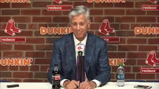 Dave Dombrowski Red Sox 2019 Trade Deadline Full Press Conference