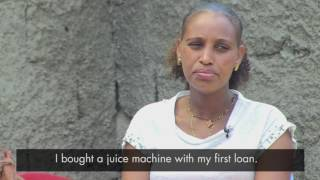 Small loan helps Bezina become a successful businesswoman