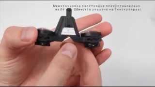 DKT - бинокулярные лупы (увеличение 2х/2.5х/3x) (Dr.Kim, Ю.Корея)(DKT - 2х/2.5х/3х бинокулярные лупы с настраиваемым межзрачковым и фокусным расстоянием для налобного осветител..., 2014-07-19T11:09:31.000Z)