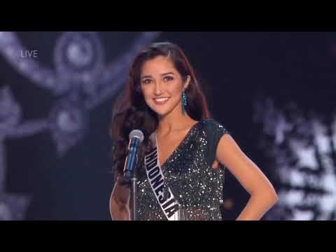Sonia Fergina Citra Miss Universe Indonesia In Preliminary Competition