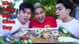 NVL   Cùng Team Ăn Ghẹ Sống Sốt Siêu Cay   Hài Hước Từng Phút Xem   Ẩm Thực Kiểu Thái Lan