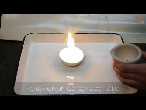 Oxidation Of Ethanol By Chromium Trioxide