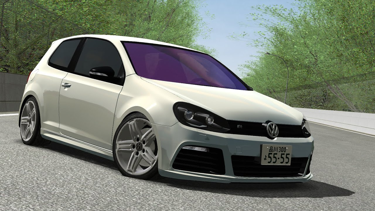 ism rfactor tuning tests 1 vw golf vi r revo hd1080p youtube. Black Bedroom Furniture Sets. Home Design Ideas