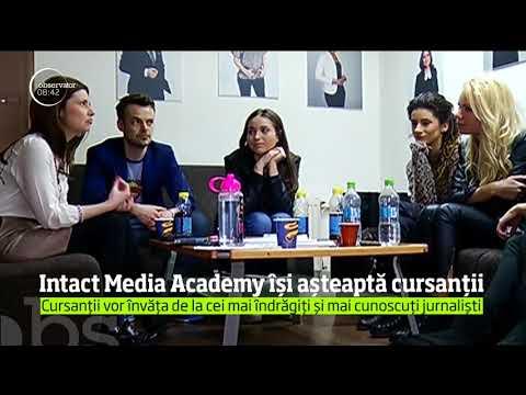 Intact Media Academy își așteaptă cursanții