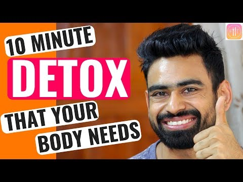 How to Detox Your Body in 10 Minutes (MY DETOX SECRET)