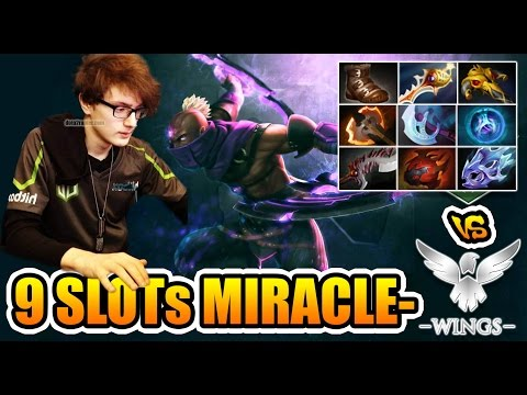 Miracle- Antimage 9 Slots + Divine Rapier vs 10.000 Stuns