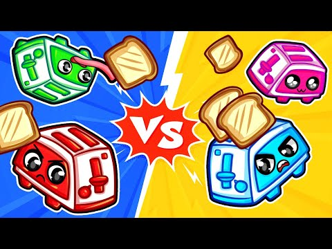Playing as a TOASTER...?