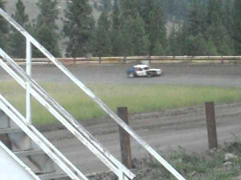 Eagle Track Raceway John Miller Jr Victory Lap Aug 3rd 2013