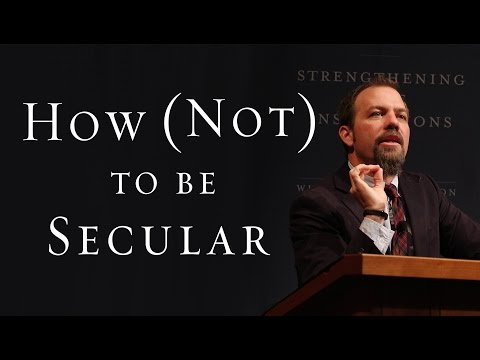 How (Not) To Be Secular: Responding To A New Millennium - James K.A. Smith