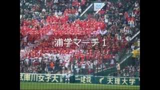 【甲子園】 浦和学院 応援歌ほぼ全曲メドレー 2015センバツ 【高校野球】