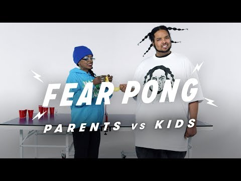 Parent vs. Kid (Debi & Duranged) | Fear Pong | Cut