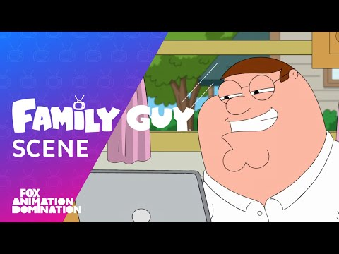Peter Watches Internet Corn | Season 17 Ep. 18 | FAMILY GUY