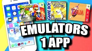 iOS 9 - 9.3.3 Jailbreak: ALL-IN-ONE Emulator App! Play GBA, NDS, PSP, N64, SNES Games on iPhone