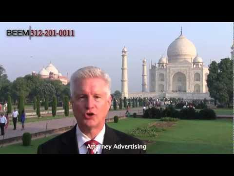Greetings from the Taj Mahal - Chicago Patent Attorney Rich Beem