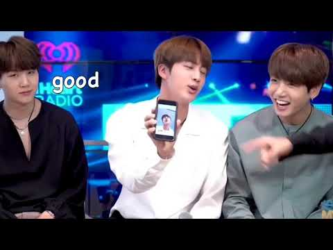 Kim Seokjin Being The Confident King He Is For 7 Mins