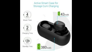 Portronics truly wireless bluetooth earphone unboxing