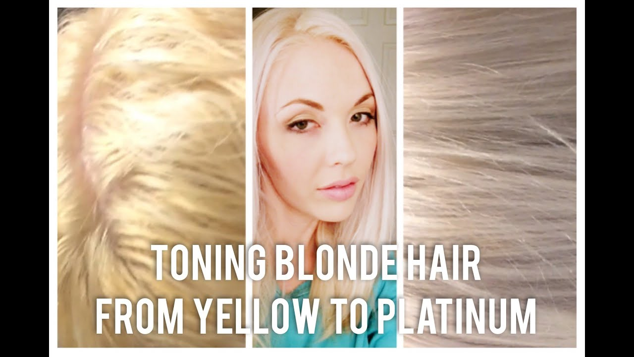 Diy Toning Bleached Blonde Hair From Brassy To Platinum