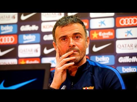 Rueda de prensa de Luis Enrique previa al Barça - Athletic (LaLiga)