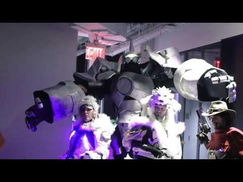 Потрясающие косплеи Overwatch на выставке Kotaku Cosplay Ball