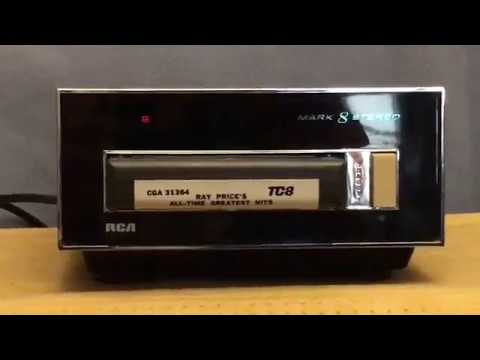 RCA Mark 8 Stereo & 8-Track Player Demo