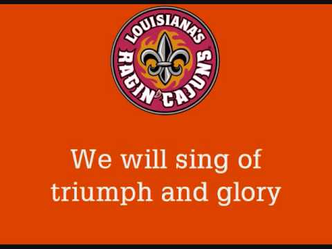 Louisiana-Lafayette's Ragin' Cajun Fight Song