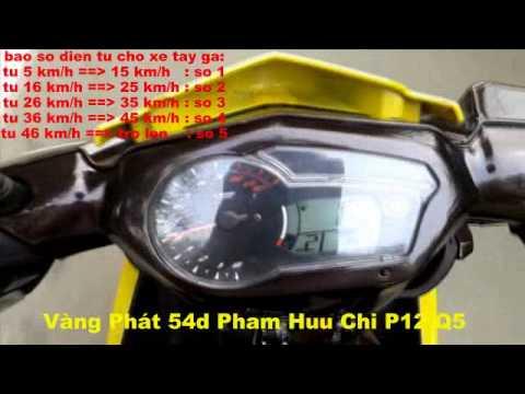 Đồng hồ Exciter 150 lắp cho Nouvo LX   Nouvo SX   Sạp Vàng Phát 54d Phạm Hữu Chí P12 Q5