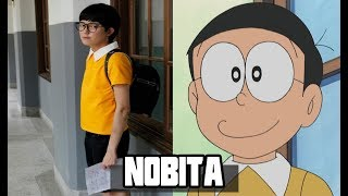 Doraemon in Real Life 2017 - Doraemon All Characters in Real Life 2017