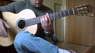 Уроки гитары.Фламенко на гитаре.1часть