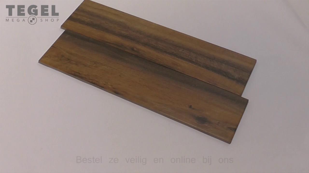 Keramisch parket visgraat real wood castagno 15x60 youtube