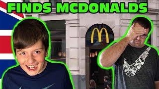 Kid Temper Tantrum Finds A McDonalds In London! [Original]