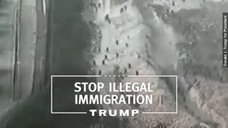 Trump Ad Shows Morocco Instead of Mexican Border - Newsy