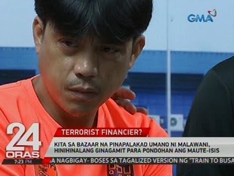 Maute-ISIS financier umano na si Rasdy Malawani, arestado matapos mahulihan ng armas sa bahay