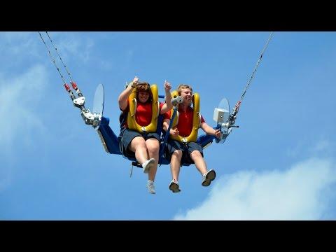 SlingShot (Off-Ride) Cedar Point