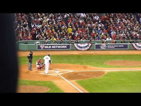Pete Kozma error: 2013 World Series Game 1