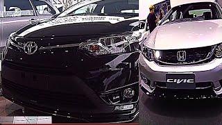 Toyota Corolla Altis 2015 - 2016 VS Honda Civic 2015 - 2016