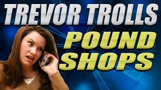 Trevor Pranks PoundShop -Buys Condoms & Porn - MW3 Griefing