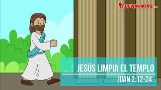 Jesús limpia el templo (Juan 2:12-24) - Historia bíblica para niños