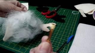 Boneca pequena porta-papel higiênico parte 2
