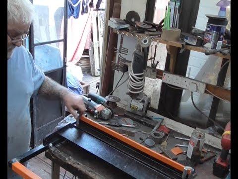 how i built the long awaited folder brake  bender ..