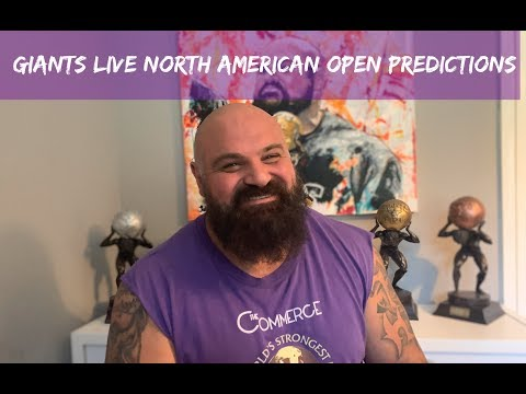 Giants Live North American Open Predictions - Strength Chat