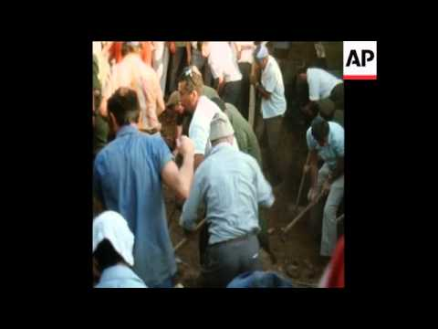 SYND 8/9/72 VICTIMS OF THE MUNICH MASSACRE ARE BURIED AT KIRYAT SHAUL