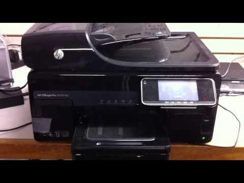 Видео Hp officejet pro 8500a e all in one printer a910a price