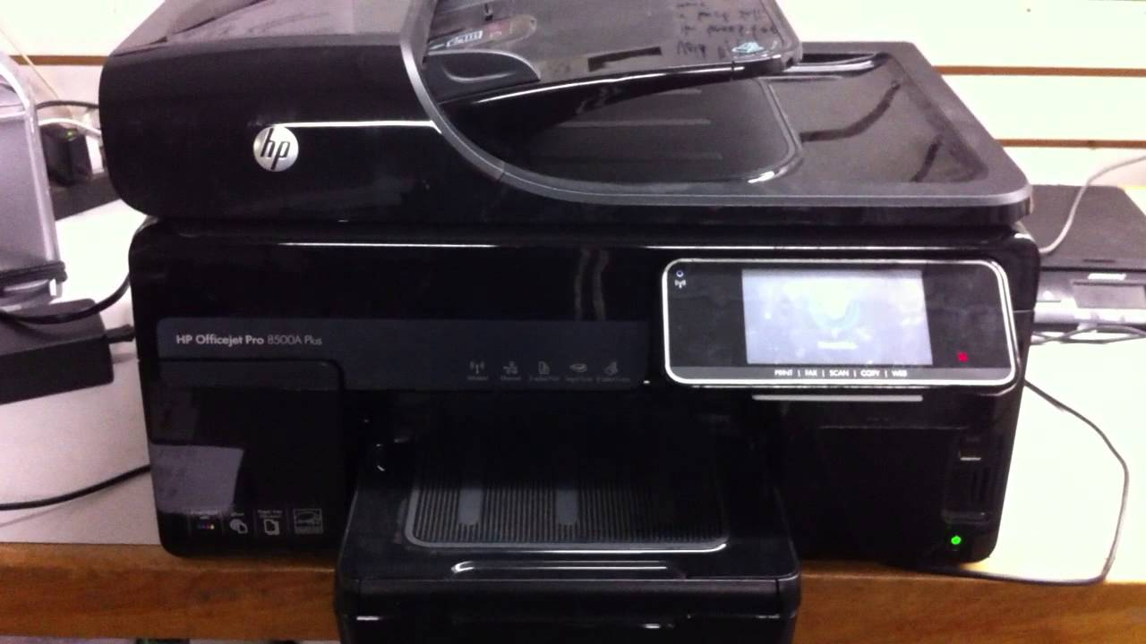 Ekstra hp officejet pro 8500a plus printer - YouTube OA-59