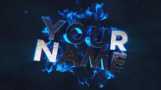 Free 3D Intro #11 | Cinema 4D/AE Template