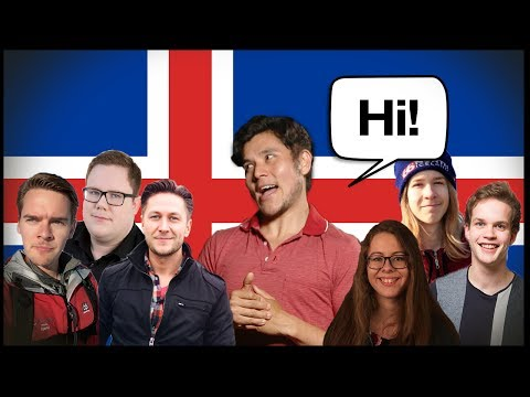 Meet the Icelandic subscribers! (Geography Now! Geograpeeps)