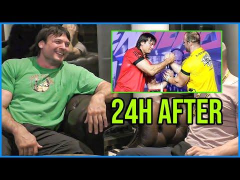 DEVON LARRATT after DENIS CYPLENKOV fight interview (RUS SUB)