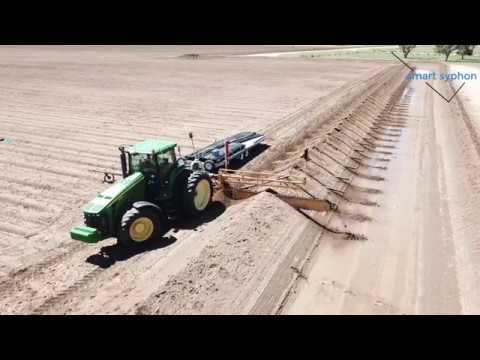 Smart Syphon - Automating Flood Irrigation on Cotton Farms